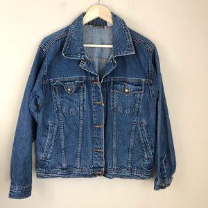 Vintage Forenza Denim Jean Trucker Jacket